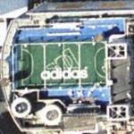 Penthouse soccer pitch from Fast And Furious: Tokyo Drift (Google Maps)