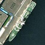 PLH-31 Shikishima Japanese Coast Guard Patrol Vessel Large With Helicopter (Google Maps)