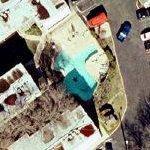 Texas shaped swimming pool