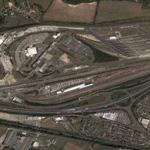 England (Folkestone) terminus of the Channel Tunnel