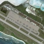 Planes on Diego Garcia Island (Google Maps)