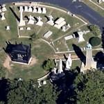 Presidential Circle at Hollywood Cemetery (Google Maps)