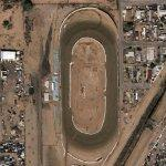 Demolition of Duke City Raceway (Google Maps)