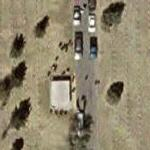 Funeral in progress (Google Maps)
