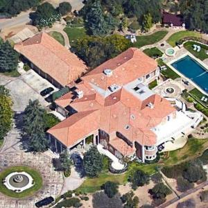 Jamie Foxx's House (Google Maps)