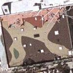 Camo roof (Google Maps)