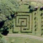 Hellens Manor maze (Google Maps)