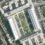 Arsenal Stadium being converted to apartment buildings (Google Maps)