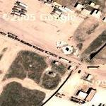 Trucks at Iraq / Syrian Border (Google Maps)