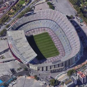 Camp Nou (Google Maps)