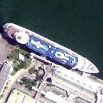 Royal Caribbean cruise ship (Google Maps)