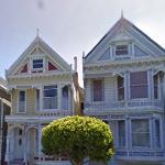Alamo Square in San Francisco (StreetView)