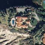 Cliff-side home of William Lerach (Google Maps)