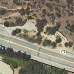 The Universal City Overlook (Mulholland Drive) (Google Maps)