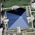 California State University pyramid (Google Maps)