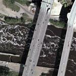 2007-08-01 - Bridge Collapse (Google Maps)