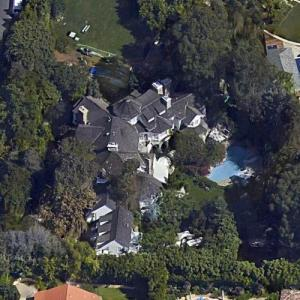 Adam Sandler's House (Google Maps)