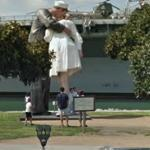 'Unconditional Surrender' by J. Seward Johnson (StreetView)