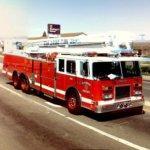 SDFD fire truck