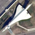 Concorde 201 at Airbus Factory (Google Maps)