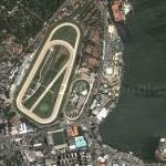 Gávea Racetrack and Rodrigo de Freitas Lagoon (Google Maps)