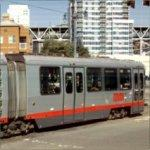 MUNI Light Rail Train
