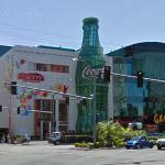 Giant Coca Cola Bottle (StreetView)