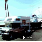 Boat on a trailer (StreetView)