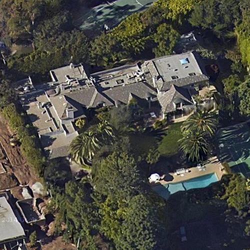 Madonna's House (former) In Beverly Hills, CA (Google Maps