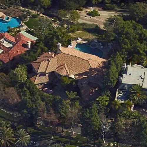 Big Houses In Los Angeles California: Paris Hilton's House In Los Angeles, CA (Google Maps