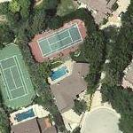 Ashton Kutcher's House (former) (Google Maps)