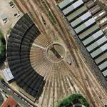 Locomotive Turntable - Paris (Google Maps)
