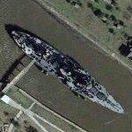 USS Texas (BB-35) (Google Maps)