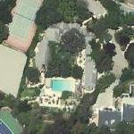 Steve Martin's House (Google Maps)