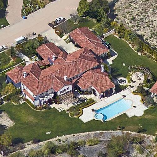 Khloe Kardashian's House In Calabasas, CA (Bing Maps
