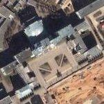 Government House (Minsk) and Independence Square (Google Maps)