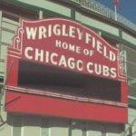 Wrigley Field sign