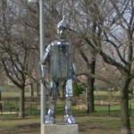 Tinman Statue in Oz Park