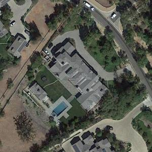 Eran & Lucie Moas's House (previously Morris Chestnut's House) (Google Maps)