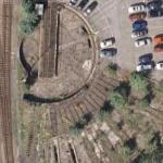 Abandoned turntable (Google Maps)
