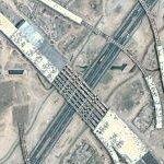 Under construction highway interchange