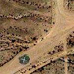 Remote desert landing strip (Google Maps)