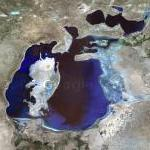 Aral Sea (Google Maps)