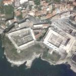 Castello di Gaeta and satellite problems (Google Maps)