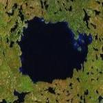Pilot crater/lake (Google Maps)