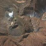 Aso volcano (Google Maps)