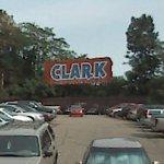 Once famous Clark candy bar sign