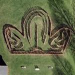 Crown maze (Google Maps)