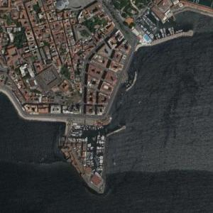 Bay of Naples - yachting 1960 (Google Maps)