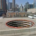'Chicago Spire' site (project cancelled)
